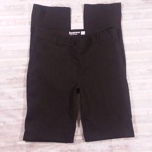 Betabrand Straight Leg Dress Yoga Pants sz L long